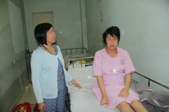 Vừa tìm thấy bé sơ sinh bị bắt cóc ở bệnh viện Hùng Vương - Ảnh 1
