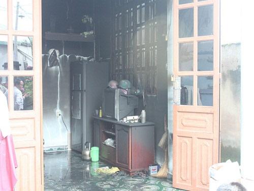 Cháy nhà, hai chị em chết ngạt  - Ảnh 3