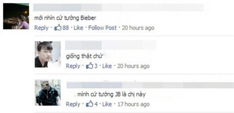 Sốt clip cô gái Pháp giống Justin Bieber hát tiếng Việt  - Ảnh 1