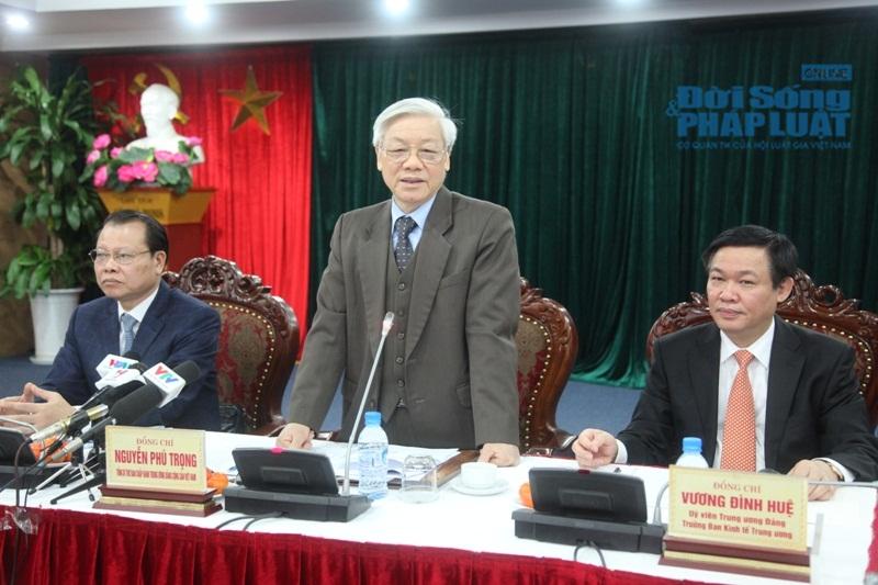 Tổng Bí thư: Ban Kinh tế TƯ có nhiều đề xuất thiết thực và sáng tạo - Ảnh 3