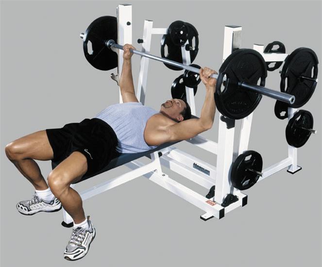 Bài tập gym giúp phái mạnh tăng cân tăng cơ nhanh - Ảnh 2