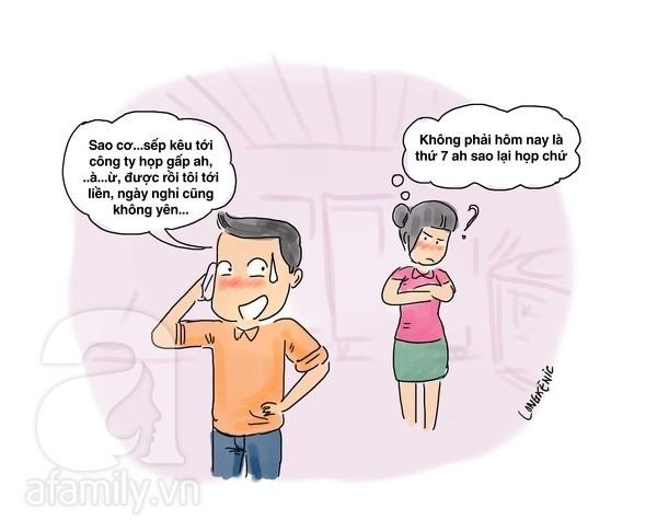 """Tranh vui: """"Phanh phui"""" những việc đàn ông làm trước ngày cưới - Ảnh 4"""