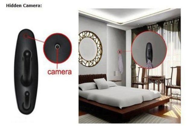 Cách nhận biết camera quay lén trong nhà nghỉ, phòng thay đồ - Ảnh 1
