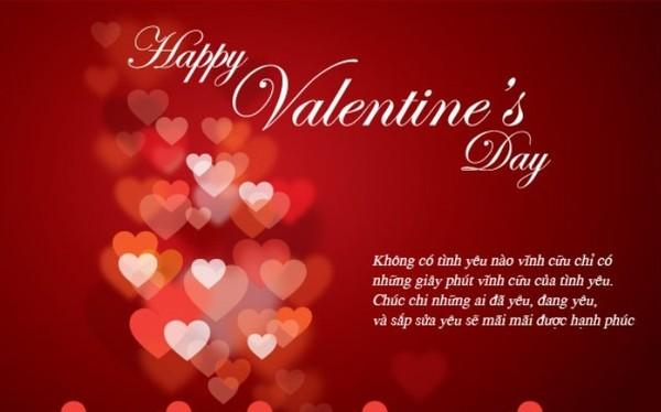 Lời chúc Valentine hay và ý nghĩa nhất gửi tặng người yêu - Ảnh 2