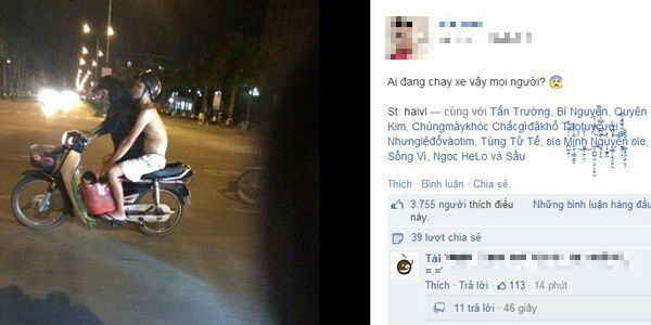 Xôn xao bức hình chó lái xe Dream chở người đi chơi - Ảnh 1
