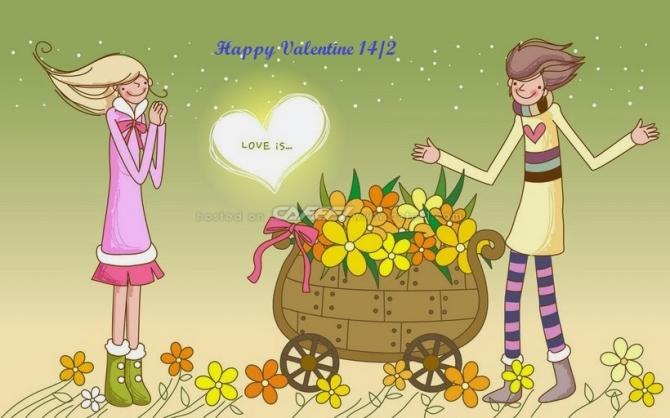 Những hình ảnh Valentine đẹp và ý nghĩa nhất - Ảnh 11