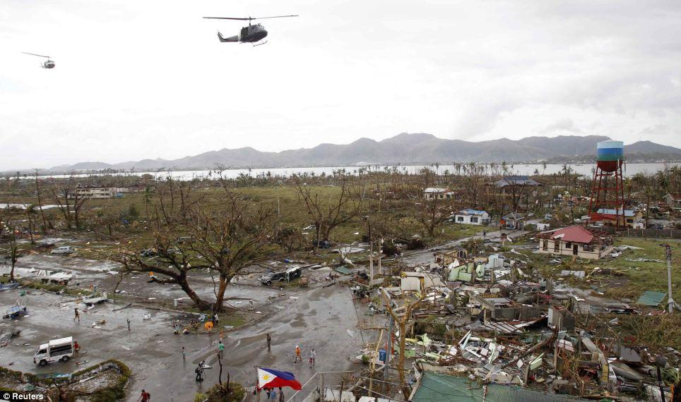Xót xa Philippines sau siêu bão - Ảnh 6