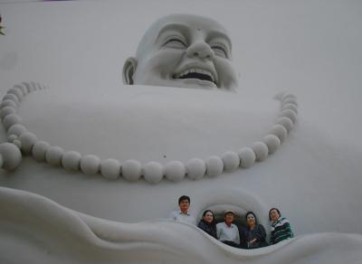 Người đàn ông hoàng tộc và chuyện kỳ bí về pho tượng Phật khổng lồ - Ảnh 2