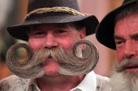 Những bộ râu kỳ dị nhất thế giới - Ảnh 2
