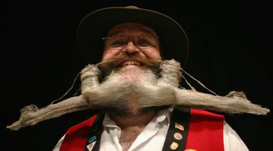 Những bộ râu kỳ dị nhất thế giới - Ảnh 10