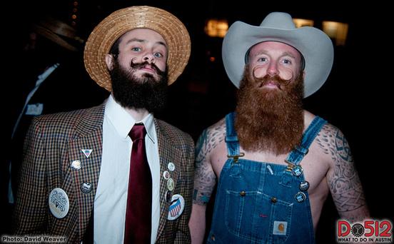 Những bộ râu kỳ dị nhất thế giới - Ảnh 14