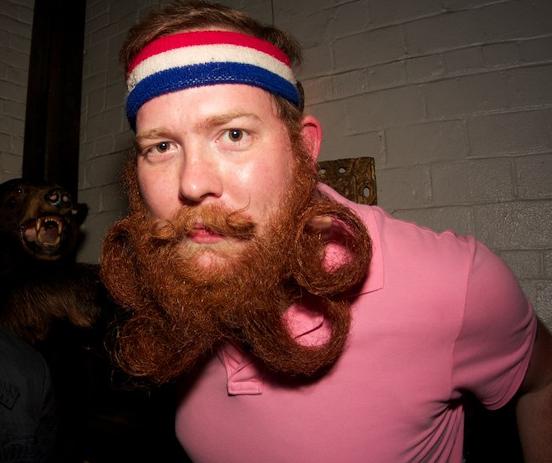 Những bộ râu kỳ dị nhất thế giới - Ảnh 7