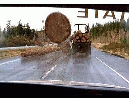 Những tai nạn hy hữu  bất ngờ trên đường - Ảnh 3