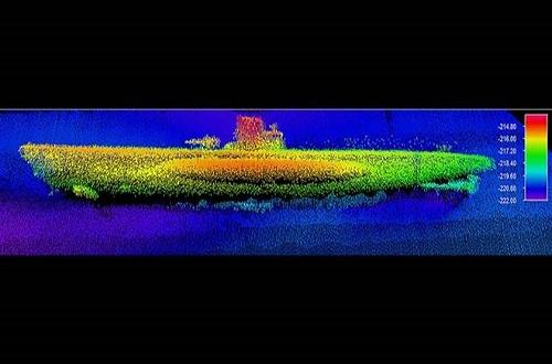 Tìm thấy xác tàu ngầm từ Thế chiến 2 tại Nghĩa địa Đại Tây Dương - Ảnh 1