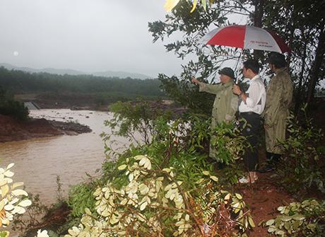 Vỡ đập hồ Đầm Hà Động ở Quảng Ninh: Di dời an toàn gần 300 hộ dân - Ảnh 1