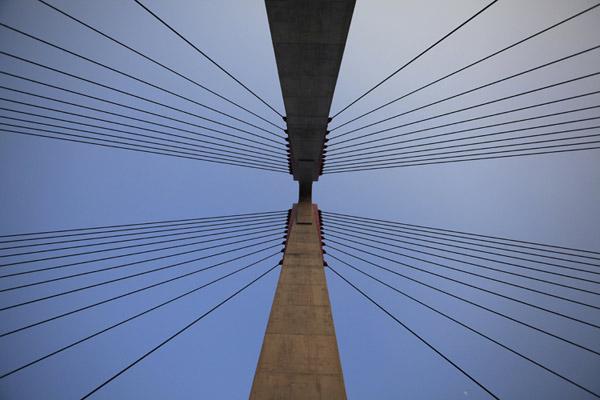Cầu dây văng dài nhất Việt Nam trước ngày thông xe - Ảnh 6
