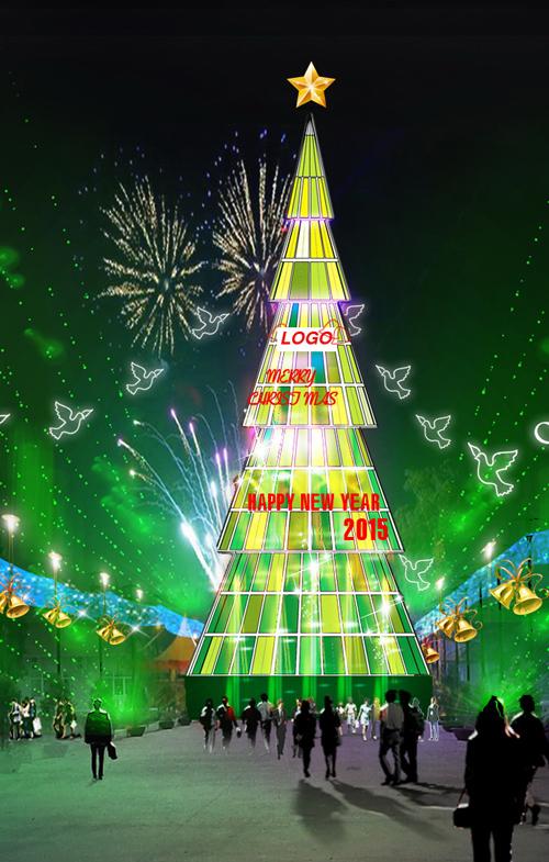 """Những cây thông Noel """"độc"""" nhất Việt Nam - Ảnh 7"""