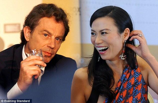 Chứng cớ ngoại tình của cựu Thủ tướng Anh Tony Blair - Ảnh 1
