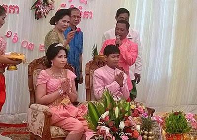 Đám cưới xa hoa của con gái trùm diệt chủng Pol Pot - Ảnh 1