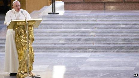 Giáo hoàng Francis cảnh cáo Mafia - Ảnh 1