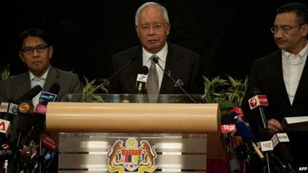 Tìm kiếm MH370: Thủ tướng Malaysia đích thân tới Australia - Ảnh 1