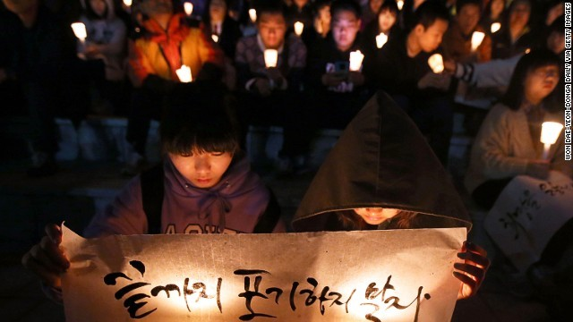 Đám tang xúc động của thầy hiệu phó sau vụ chìm phà Sewol - Ảnh 2