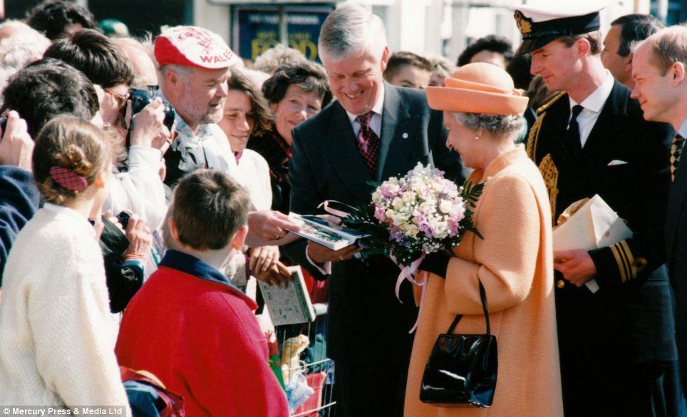 """Những bức ảnh """"độc"""" về gia đình hoàng gia Anh - Ảnh 9"""