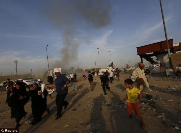 Cận cảnh đánh bom ở Iraq, gần trăm người thương vong - Ảnh 5