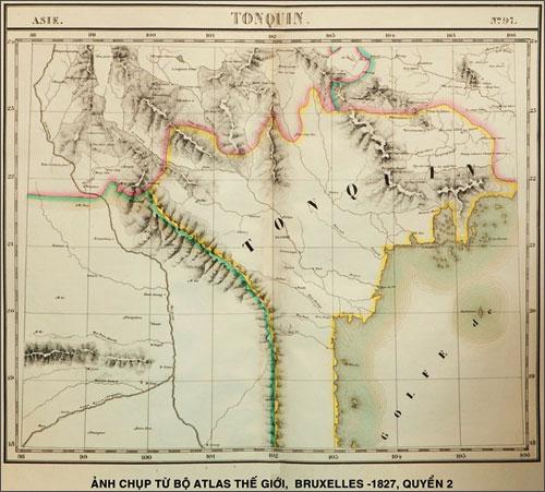 Bản đồ cổ khẳng định Hoàng Sa và Trường Sa là của Việt Nam - Ảnh 1