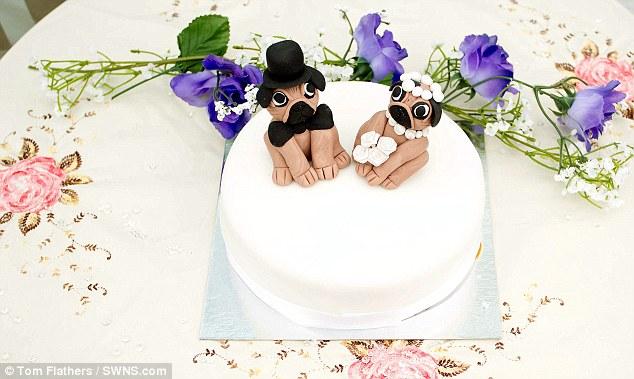 Chi 70 triệu tổ chức đám cưới cho… cún cưng - Ảnh 5