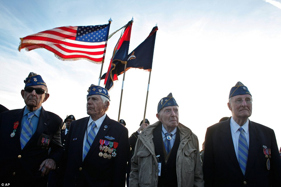 Toàn cảnh buổi lễ kỷ niệm 70 năm cuộc đổ bộ Normandy - Ảnh 5