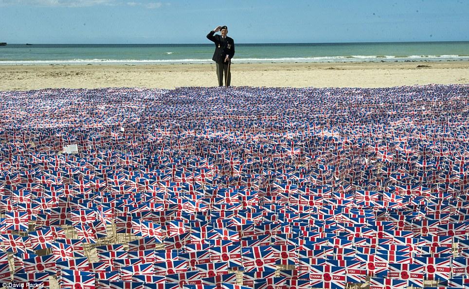 Toàn cảnh buổi lễ kỷ niệm 70 năm cuộc đổ bộ Normandy - Ảnh 8