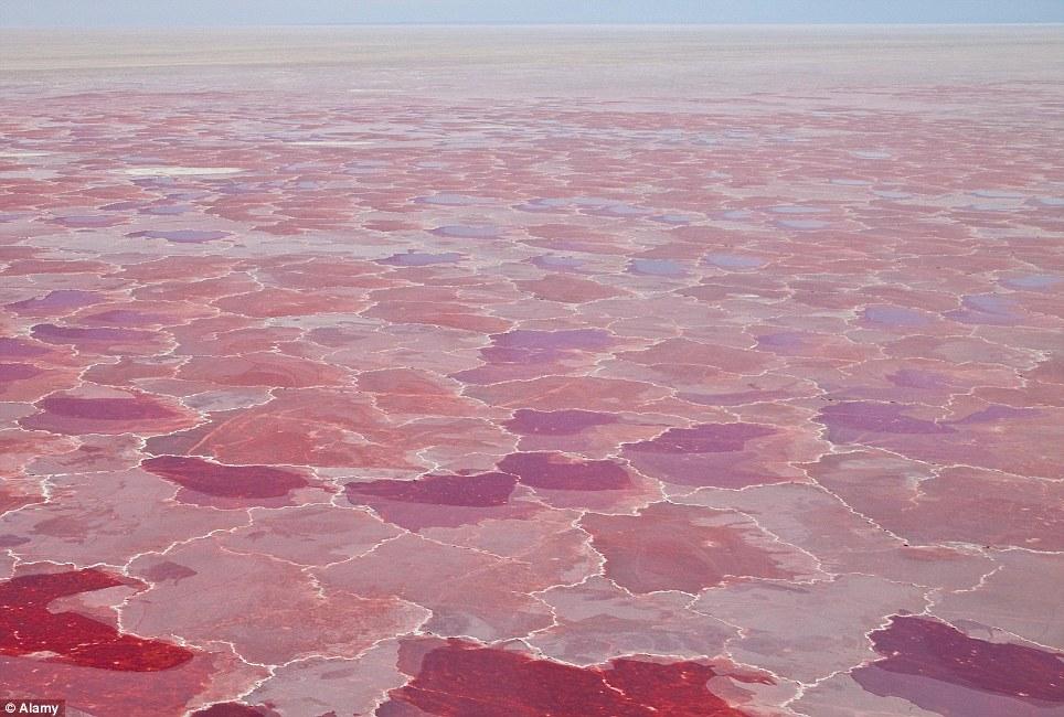 Khám phá 10 hồ nước kỳ lạ trên thế giới - Ảnh 8