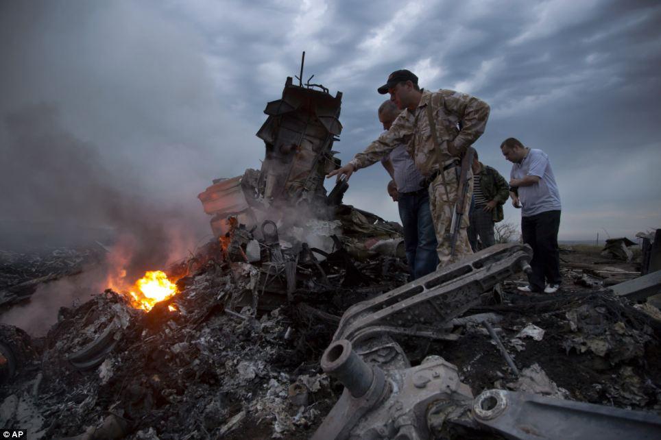 Cận cảnh vụ rơi máy bay Malaysia, 295 người thiệt mạng - Ảnh 2