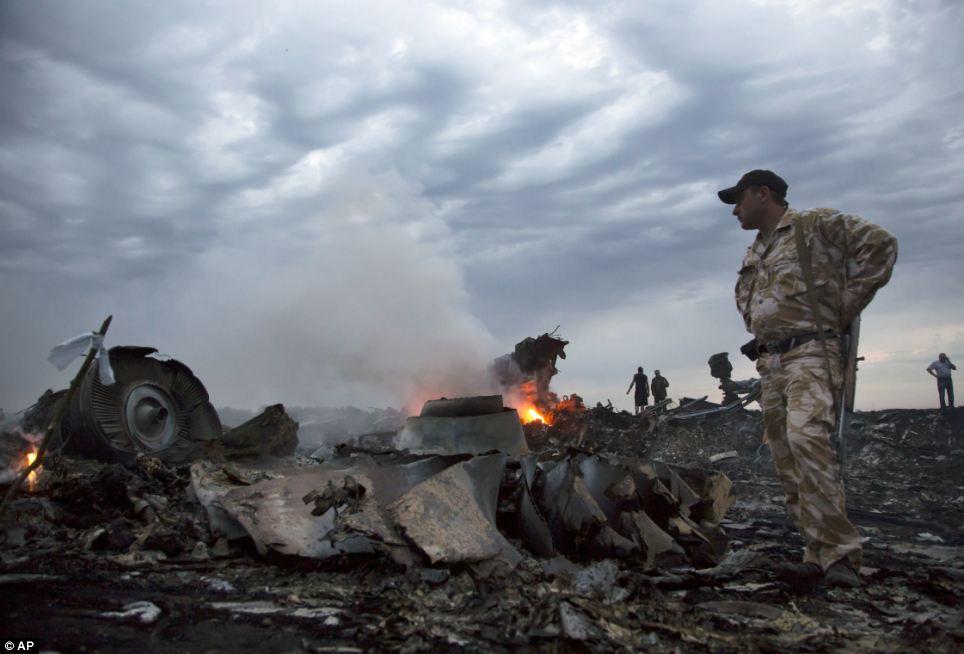 Cận cảnh vụ rơi máy bay Malaysia, 295 người thiệt mạng - Ảnh 5