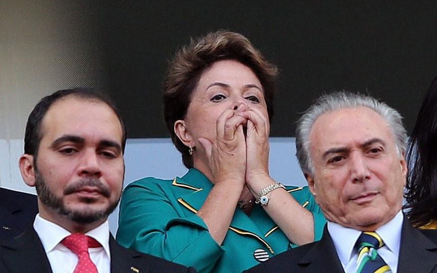 Chùm ảnh các nguyên thủ thế giới cuồng nhiệt với World Cup 2014 - Ảnh 5