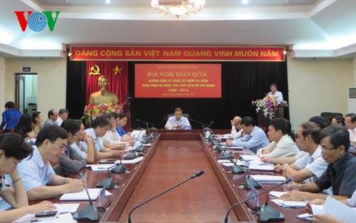 Kỷ niệm 45 năm thực hiện Di chúc của Chủ tịch Hồ Chí Minh - Ảnh 1