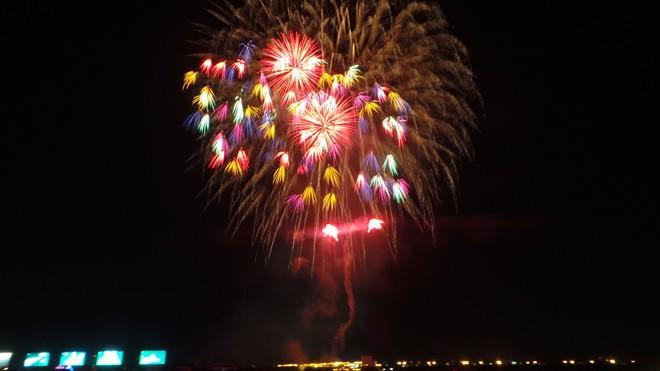 Màn pháo hoa rực rỡ tại TP.HCM mừng ngày Quốc khánh 2/9 - Ảnh 3