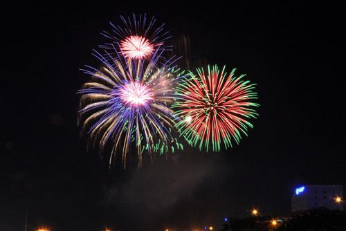 Màn pháo hoa rực rỡ tại TP.HCM mừng ngày Quốc khánh 2/9 - Ảnh 6