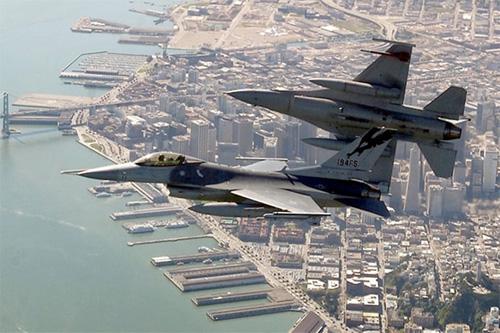 Mỹ mở đợt không kích dồn dập thứ 2 ở Syria - Ảnh 1