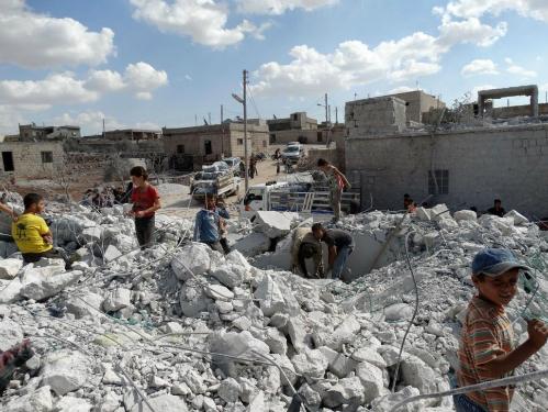 Mỹ mở đợt không kích dồn dập thứ 2 ở Syria - Ảnh 3
