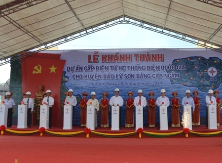 """Hơn 22.000 hộ dân đảo Lý Sơn thôi """"khát"""" điện - Ảnh 1"""
