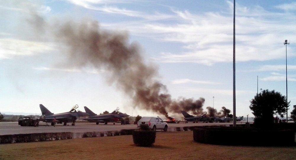 7 vụ rơi máy bay quân sự gần đây nhất trên thế giới - Ảnh 1