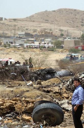 7 vụ rơi máy bay quân sự gần đây nhất trên thế giới - Ảnh 5