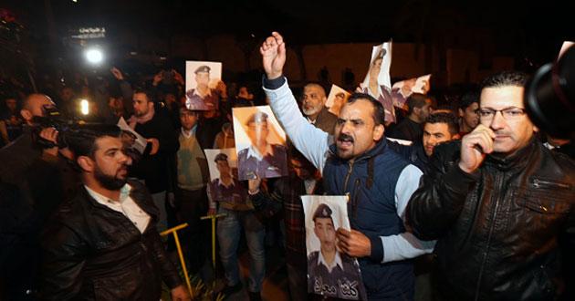 Jordan không kích, tiêu diệt 55 chiến binh IS - Ảnh 1