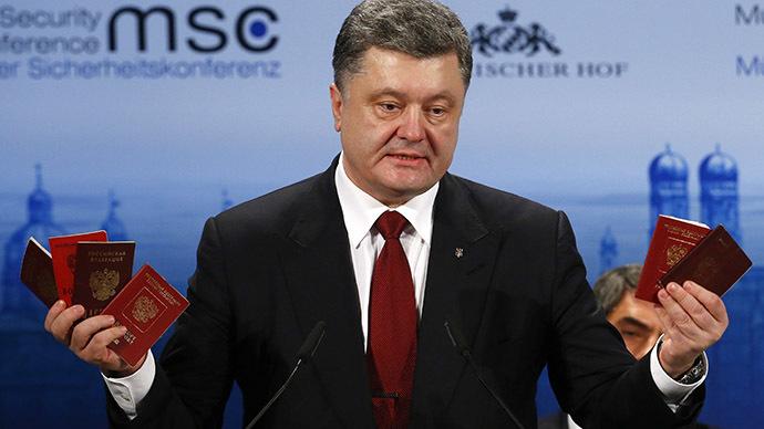 """Tổng thống Ukraine trình """"bằng chứng"""" tố cáo Nga tham chiến - Ảnh 1"""