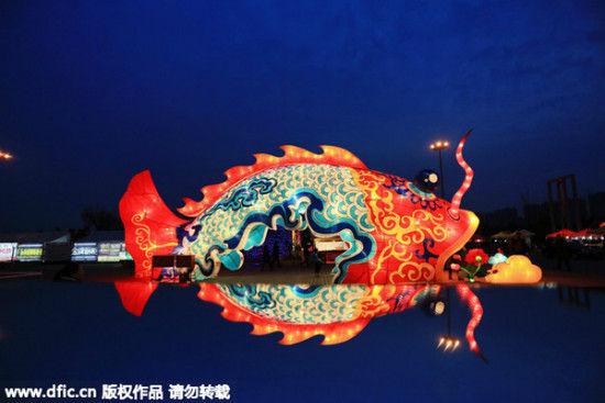 Không khí rộn ràng ngày Tết Nguyên tiêu ở Trung Quốc - Ảnh 5