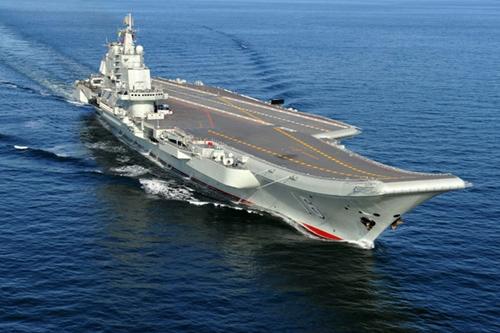 Trung Quốc đưa tàu sân bay Liêu Ninh vào Biển Đông   - Ảnh 1