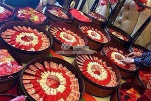 """""""Choáng"""" với những đám cưới xa hoa bậc nhất Trung Quốc - Ảnh 5"""