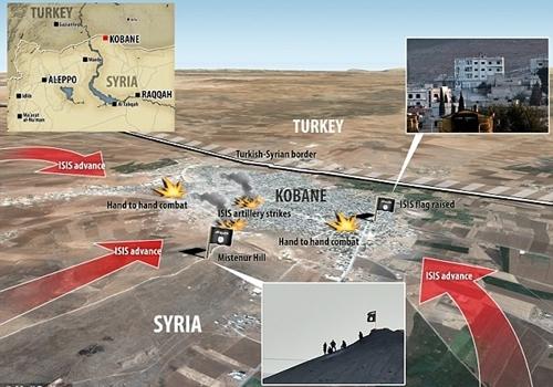 """Thổ Nhĩ Kỳ """"giúp"""" IS chiếm thành phố Kobane  - Ảnh 2"""